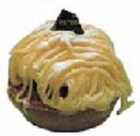 大盛堂 合志芋のモンブラン(2010年1月号掲載)