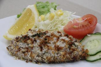 魚のハーブパン粉焼き(広報こうし平成30年6月号掲載)
