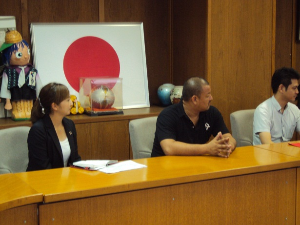 3枚目ロアッソ熊本正ゴールキーパーだった小林さん