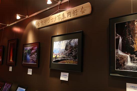 写真展示の様子