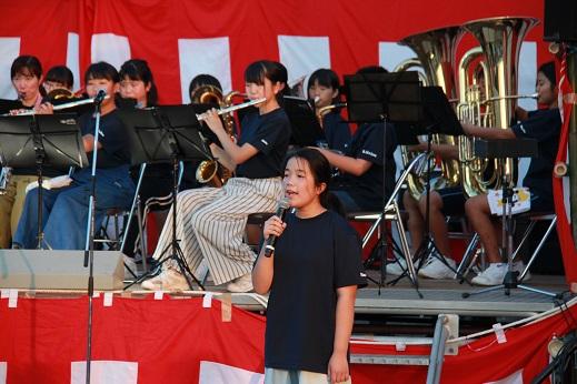 09西合志中学校吹奏楽部演奏_IMG_0809