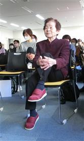 百歳体操坂本さん1