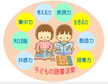 子ども読書活動イメージ図
